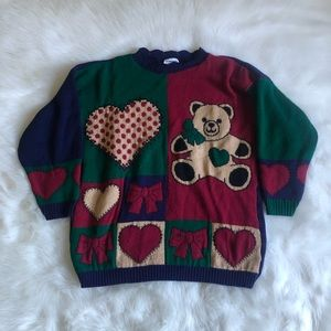 Teddy Bear Christmas Sweater